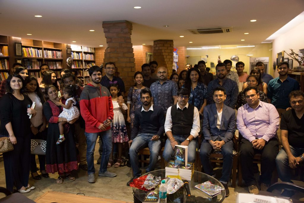 Book Launch of Last Avatar - group pic-min (1)