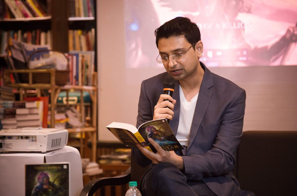Vishwas Mudagal - Author - Kalki Avatar